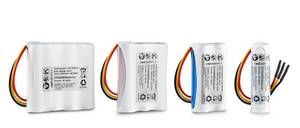 DYNAMIS Lithium-Ion Standard Packs from UL-recognized cells with PCM and 150 mm wire